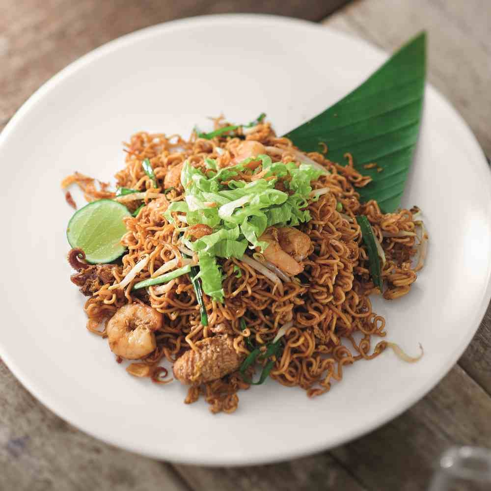 Wok-Fried Seafood Springy Noodles