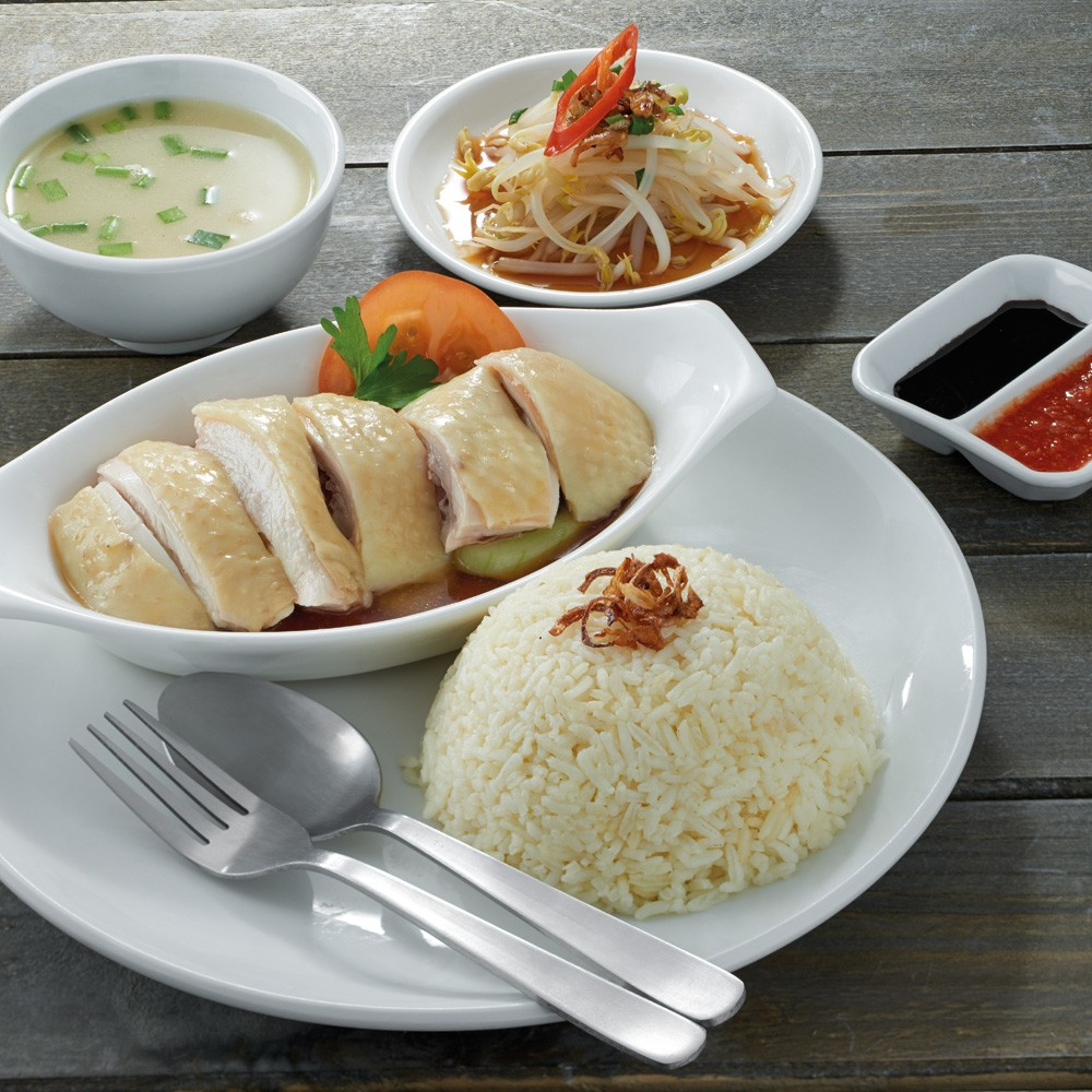 Hainan Steamed Chicken Rice