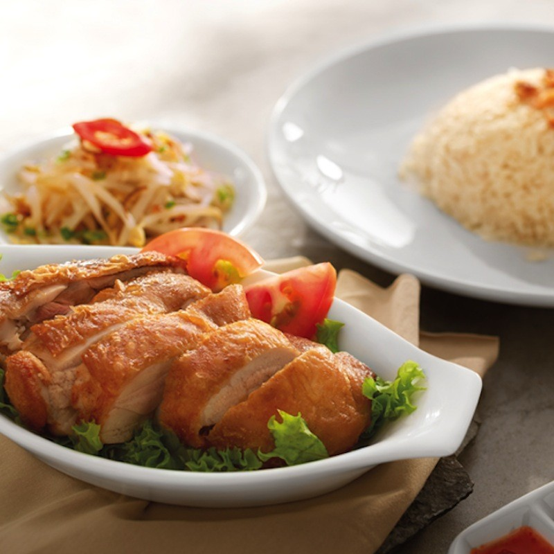 Hainan Fried Chicken Rice