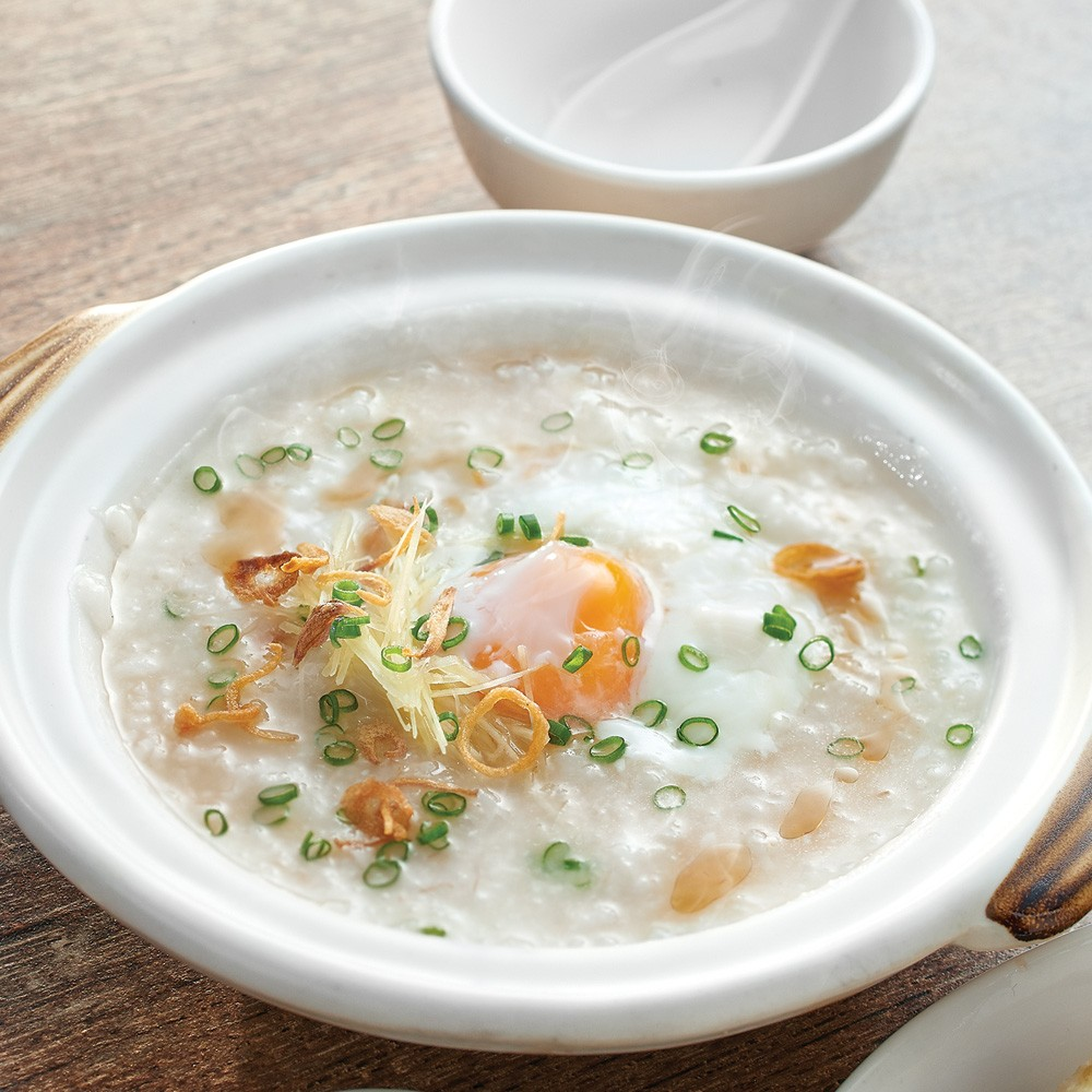 Chicken Porridge with Egg