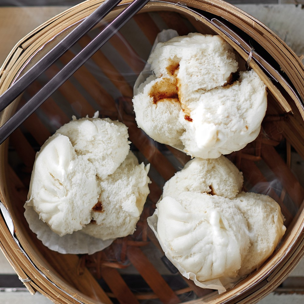 Steamed Pao (3 Pieces) (Vegetarian)