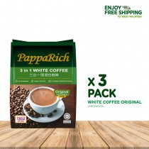 [3 Pack Bundle] Papparich White Coffee 3in1 (30g x 12s)
