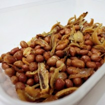 Fried Groundnut + Anchovies (1 Portion)