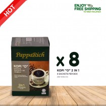 "[8 Boxes] Papparich Kopi ""O"" 2IN1 (20g x 8s)"