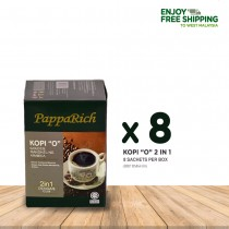 "[8 Boxes Papparich Kopi ""O"" 2IN1 (20g x 8s)"