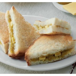 Hainan Toast with Butter + Kaya