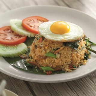 Kampung Fried Rice with Egg