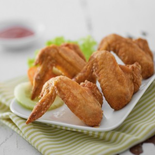 Fried Chicken Wings (4 pieces)